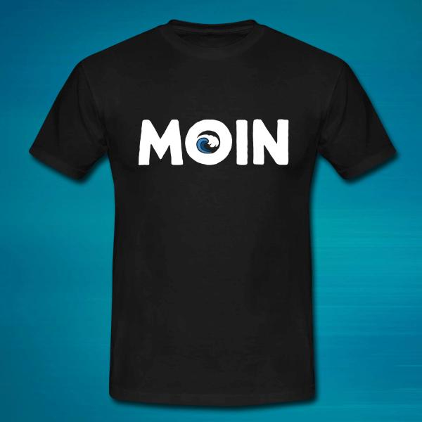 Männer T-Shirt mit einem Moin